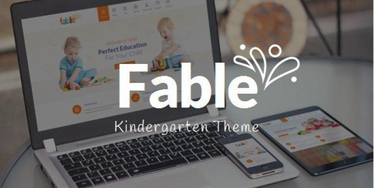 Fable – Children Kindergarten WordPress Theme - Gpl Pulse