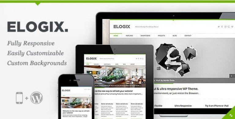 ELOGIX – Responsive Business WordPress Theme - Gpl Pulse