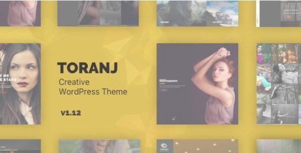 Toranj – Responsive Creative WordPress Theme - Gpl Download