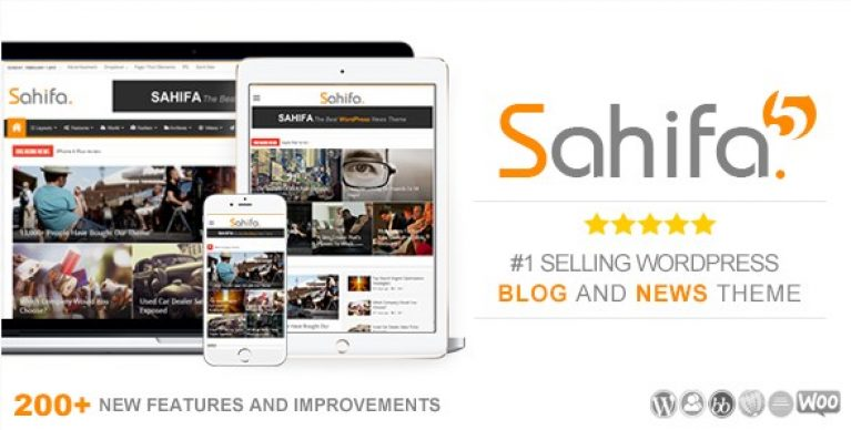 Sahifa – Responsive WordPress News / Magazine / Newspaper Theme - Gpl Pulse
