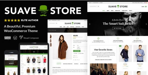 Suave – Multi-Purpose WooCommerce Theme - Gpl Download