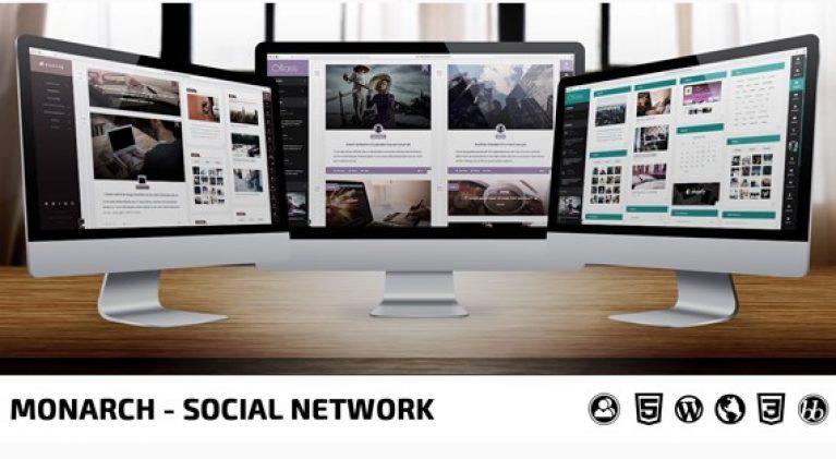 Monarch – Innovative WordPress Community Theme - Gpl Pulse