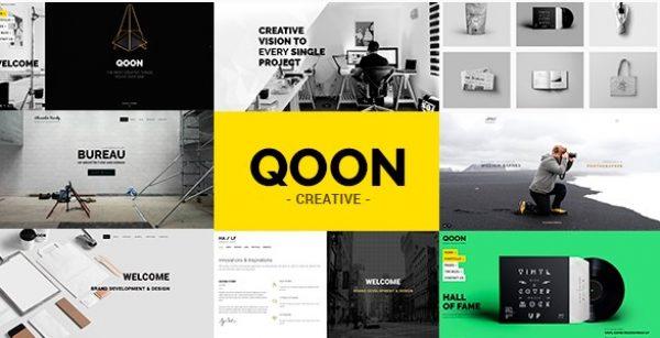 QOON – Creative Portfolio & Agency WordPress Theme - Gpl Pulse