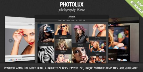 Photolux – Photography Portfolio WordPress Theme - Gpl Pulse