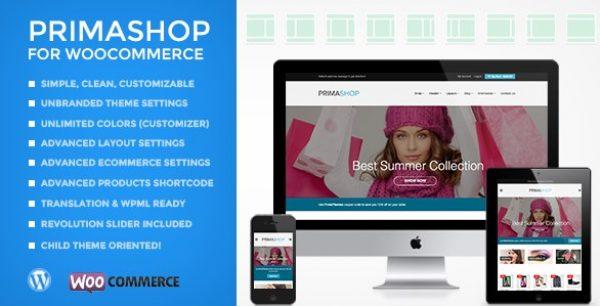PrimaShop – Clean WooCommerce WordPress Theme - Gpl Pulse