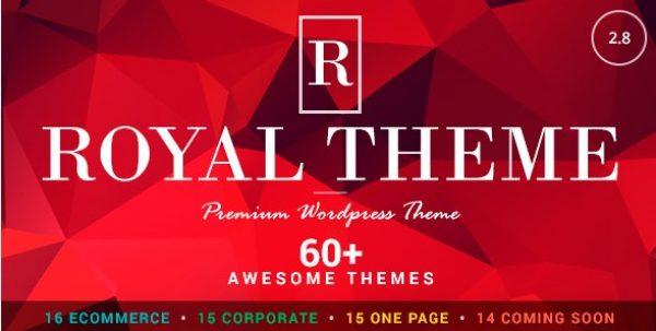 Royal – Multi-Purpose WordPress Theme - Gpl Pulse