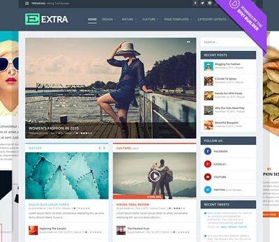 Elegant Themes Extra WordPress Theme - Gpl Pulse