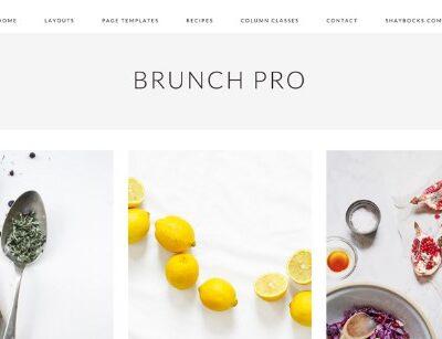 StudioPress Brunch Pro Theme - Gpl Download