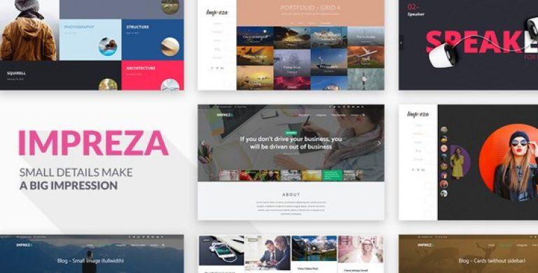 Impreza – Retina Responsive WordPress Theme - Gpl Pulse