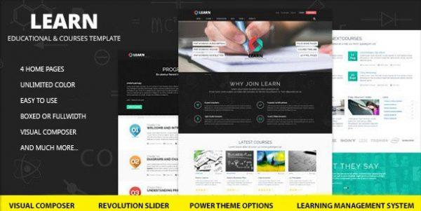 Learn – Education eLearning WordPress Theme - Gpl Pulse