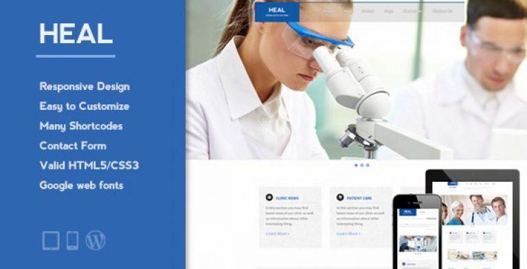 HEAL – Responsive Medical WordPress Theme - Gpl Pulse