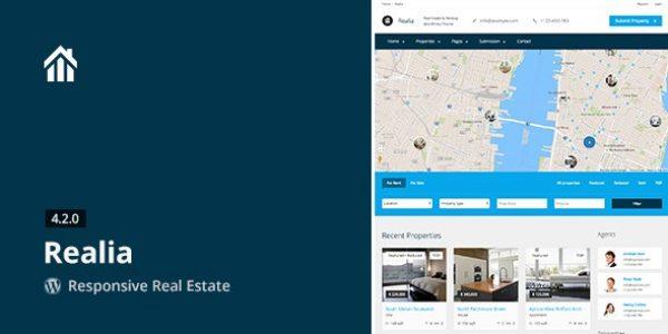 Realia – Responsive Real Estate WordPress Theme - Gpl Pulse