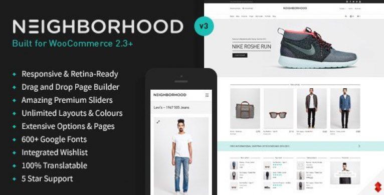Neighborhood – Responsive Multi-Purpose Shop Theme - Gpl Pulse